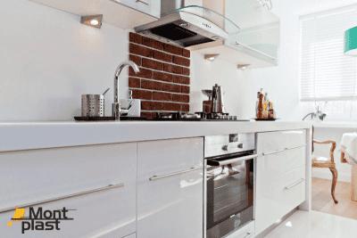 Meble kuchenne na wymiar białe